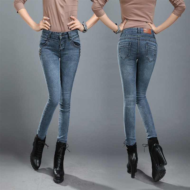 Aliexpress.com : Buy 2015 New Fashion New Slim Jeans Women Famous