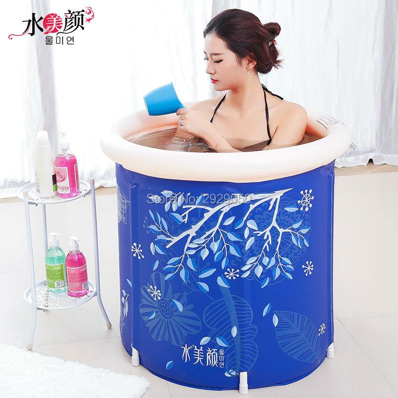 Baignoire pliante beauté de l'eau, baignoire en plastique, baignoire - Marchandises pour la maison - Photo 4