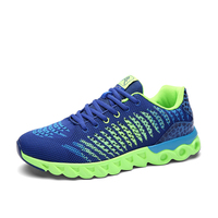 2017 deportes jogging zapatos flyknit zapatos corrientes para los hombres y mujeres de luz krasovki athletic zapatillas de deporte de los hombres respirables zapatillas