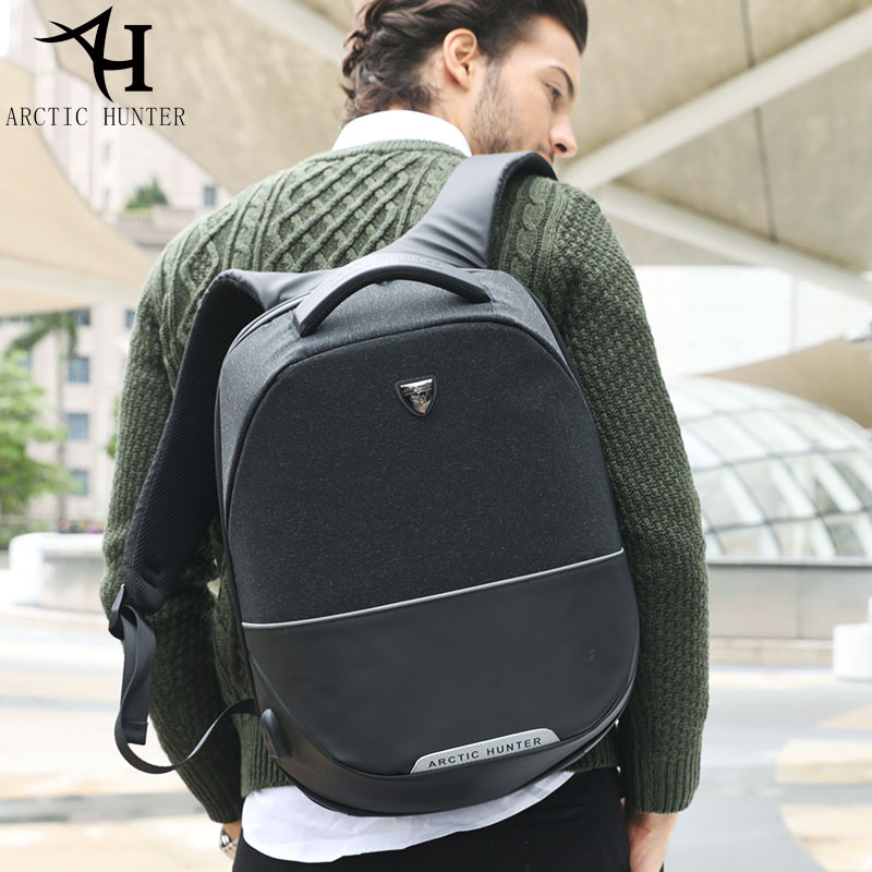 ARCTIC HUNTER Male Backpack Female School Bag For Teenagers Backpacks Men Travel Bags Large Capacity Laptop Backpack B00216 large 14 15 inch notebook backpack men s travel backpack waterproof nylon school bags for teenagers casual shoulder male bag