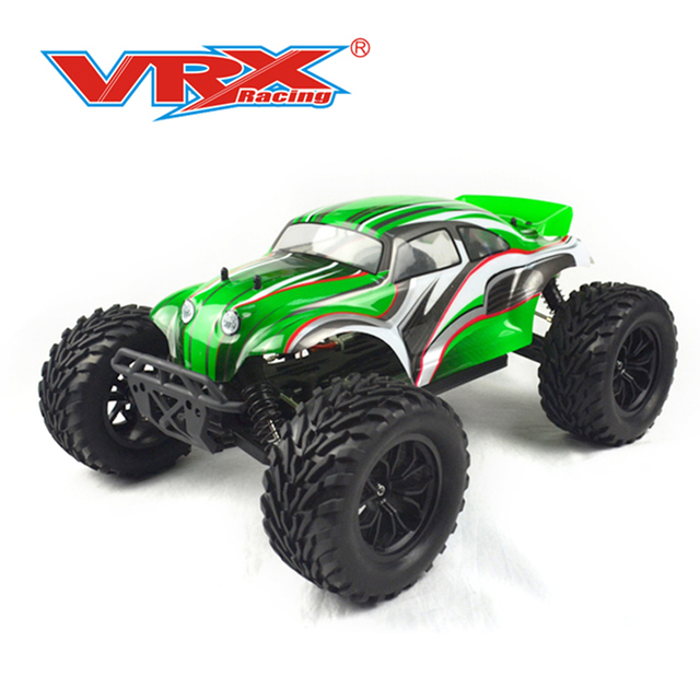 Vrx Racing 1/10 Scale 4WD Electric Monster Truck Remote