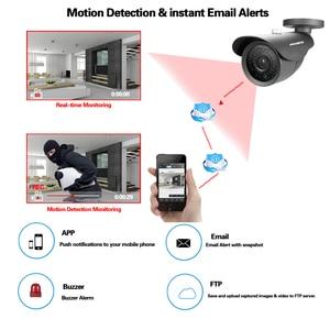 Image 5 - HKIXDISTE cámara HD IMX322 de 4MP, sistema AHD, CCTV, AHD, impermeable para interior/exterior, pequeña cámara de seguridad de Metal con bala de Metal