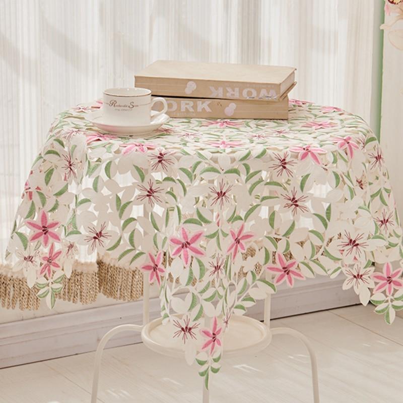 Venta caliente elegante Satén de poliéster jacquard Bordado floral ...