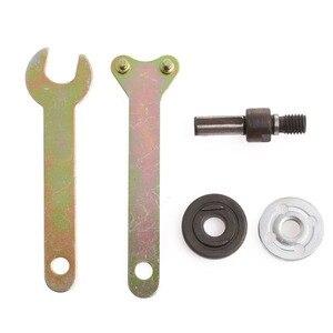 Image 2 - M10/16mm Gat Boor Hoek Grinder Doorn Adapter Disc Houder Kit Spanner Kit Power Tools