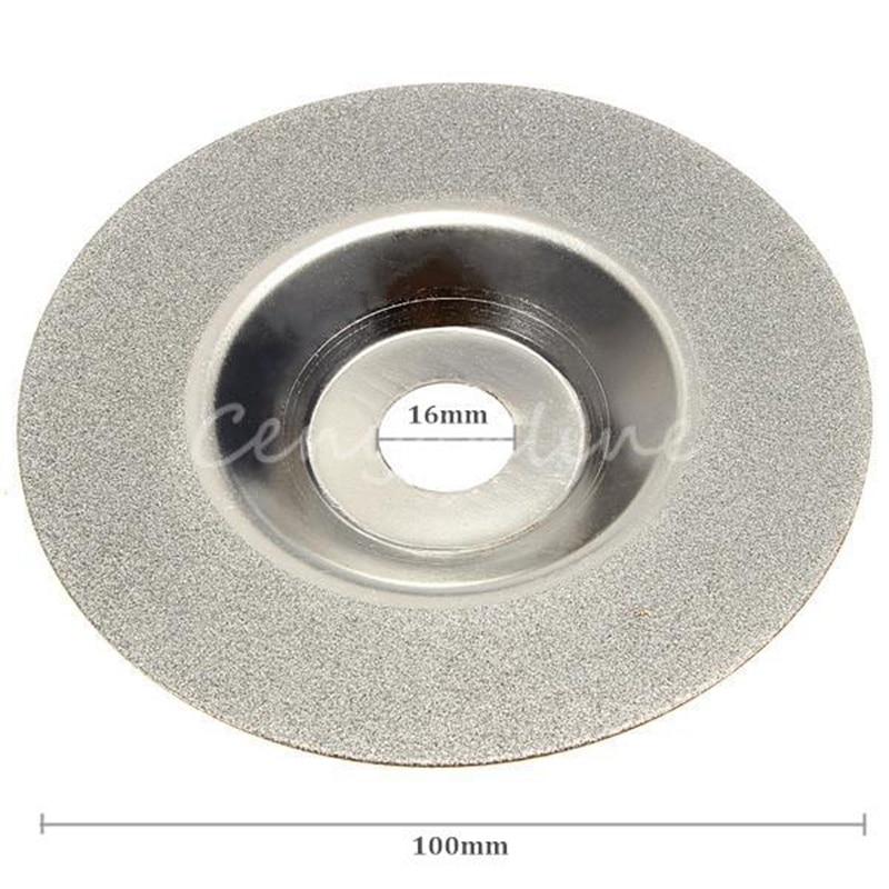 100mm 4 inch Diamant gecoate Slijpen Polijsten Slijpschijf Zaagblad - Schurende gereedschappen - Foto 3