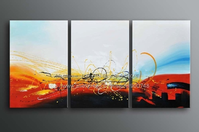 Aliexpress.com : Buy Oil Painting On Canvas Modern Abstract ...