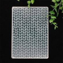 YPP ремесло листья пластиковые папки для тиснения для DIY Скрапбукинг бумаги ремесло/открыток украшения поставки