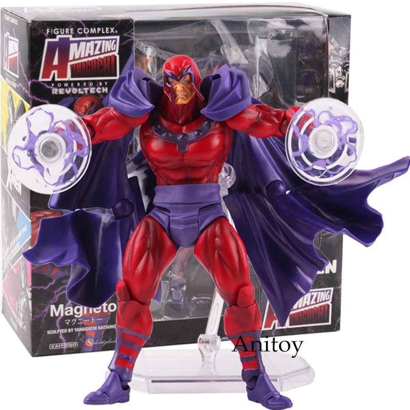 Image 5 - Marvel Comics X Men Avengers Magneto Figma Series NO.006 PVC XMen  Amazing Yamaguchi Figure Collectible Model ToyAction & Toy Figures   -