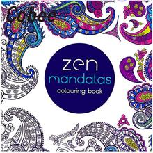 Cobee 2pcs Creative 24 Pages Anti Stress Coloring Book Fantasy Zen Mandalas Painting Books Graffiti Students Adults Supplies