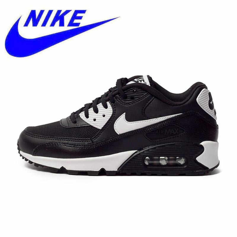 7ac07170cd8 Original New Arrival Authentic NIKE AIR MAX 90 ESSENTIAL Breathable Women s  Running Shoes Sneakers Trainers