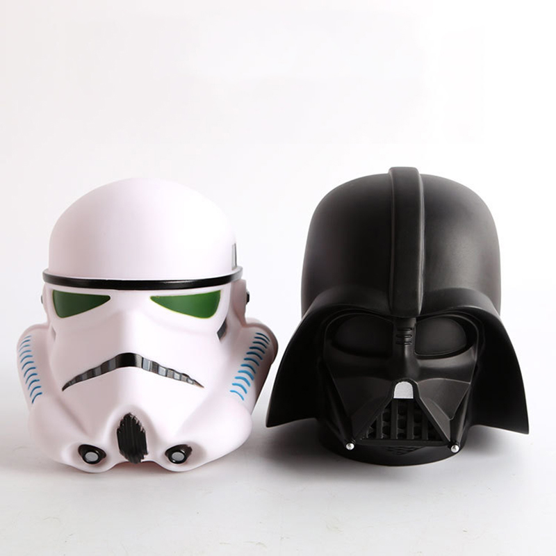 14cm Star Wars Darth Vader Stormtrooper BB8 Cute Coin Bank Piggy Bank Money Saving Box Money box Figure Box Toy For Kids Gift fashion style