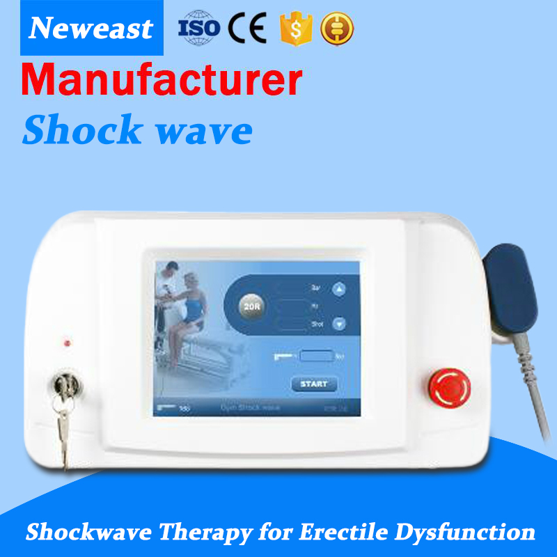 Pneumatic Shock Wave Therapy Equipment Shockwave Machine Physiotherapy Knee Back Pain Relief Cellulites