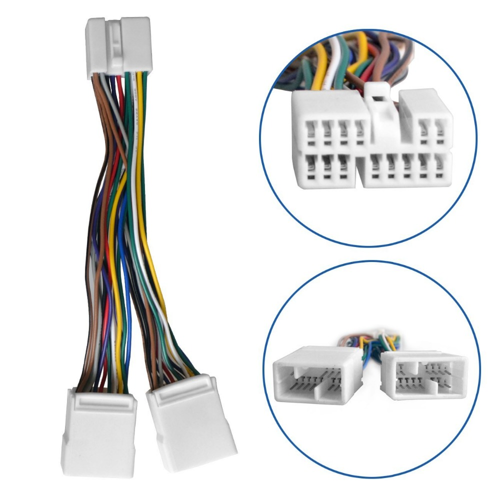 Y Splitter Cable Harness Wire For Cd Changer Nav Usb