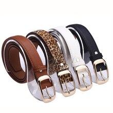 Good Quality Fashion Women Belt Faux Leather Metal Buckle Straps Fashion Accessories cross straps belt buckle faux fur short boots