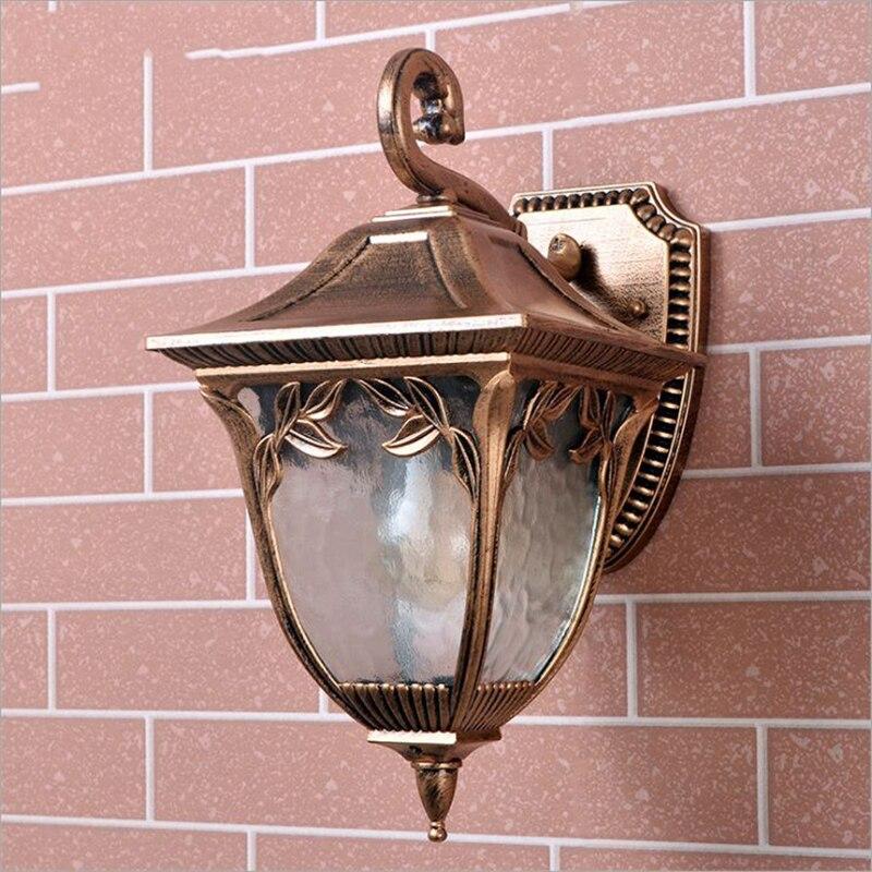 Outdoor Wall Light Accessories: Aliexpress.com : Buy European Style Waterproof Retro