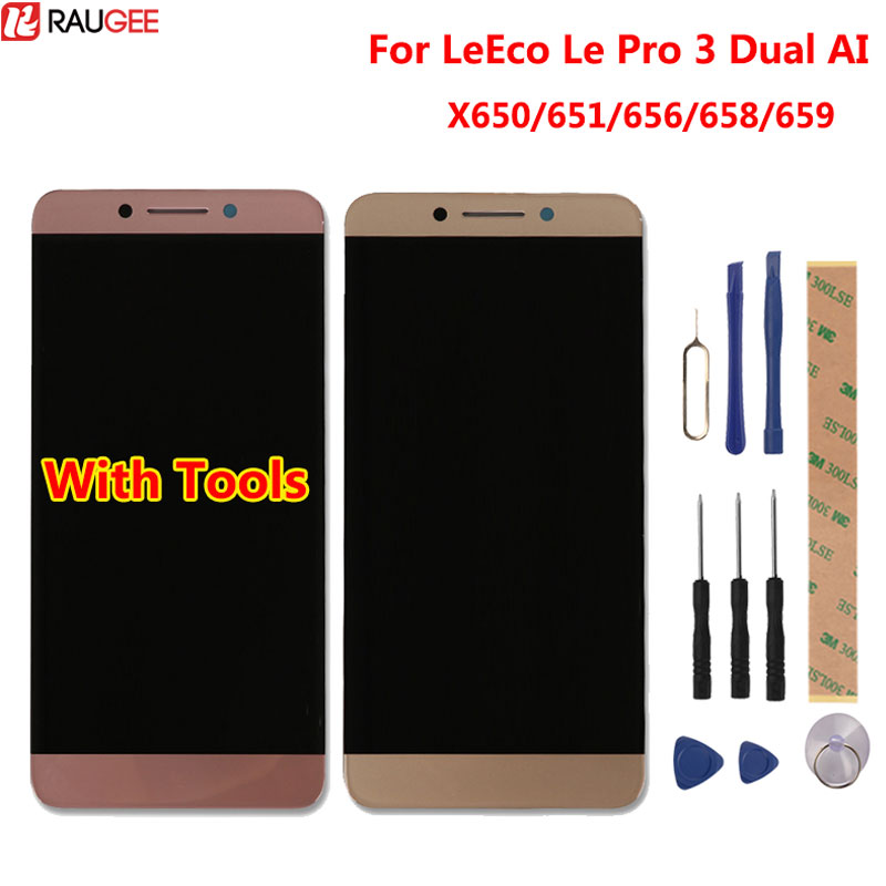 For LeEco <font><b>Le</b></font> Pro 3 Dual AI X650 X653 AI Edition LCD Display+Touch Screen Digitizer Screen Glass Panel Assembly image