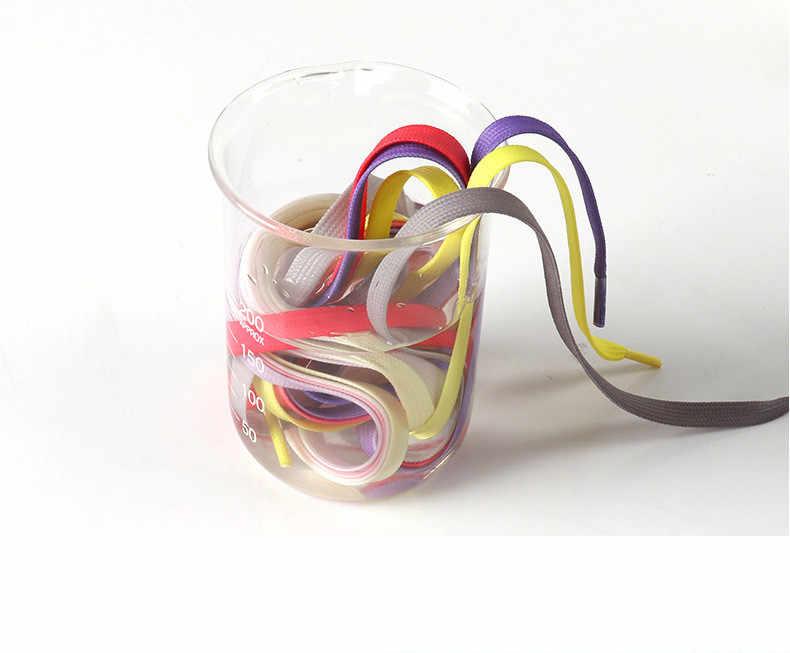 1 çift 100/120cm kadın erkek renkli ayakkabı bağcığı moda spor ayakkabı düz ayakkabı bağcığı yürüyüş botları ayakkabı dizeleri renkli ayakkabı bağcıkları