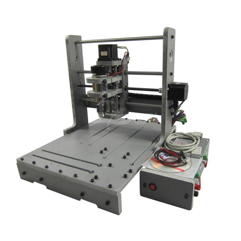 CNC fraiseuse bricolage 3040 3 axes CNC routeur pour sculpture sur bois PCB
