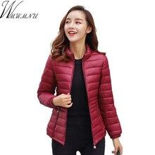 2018 новые зимняя куртка женщин большой размер 5XL куртка пальто Женский с длинным рукавом теплый высокого качества куртка тонкий пальто топы