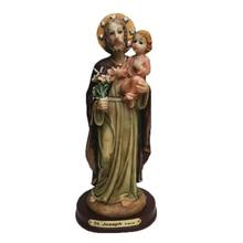Религиозные Подарки, христианские, католические украшения для дома, статуя Святого Иосифа, Высота 22 см