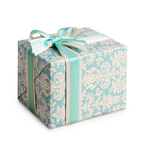 53*75cm elegant blue flower pattern 8pcs gift Wrapping Paper for birthday party Christmas gifts decorate Packaging-in Craft Paper from Home & Garden ...