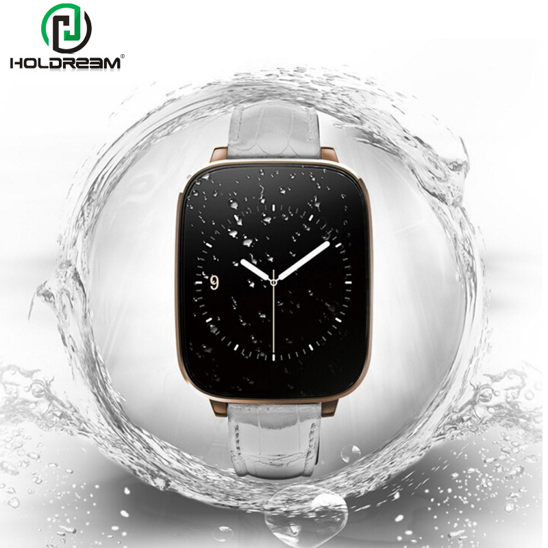 ФОТО Holdream L10 Smart Watch HRM Heart Rate Monitor MTK2502 Bluetooth 4.0 IP65 Genuine Leather Strap 1.54
