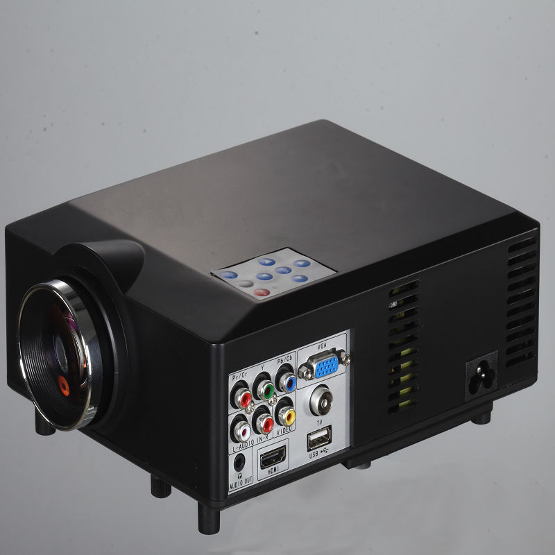 Total Weight 1.98kg HD Mini Projector 800*600 Home