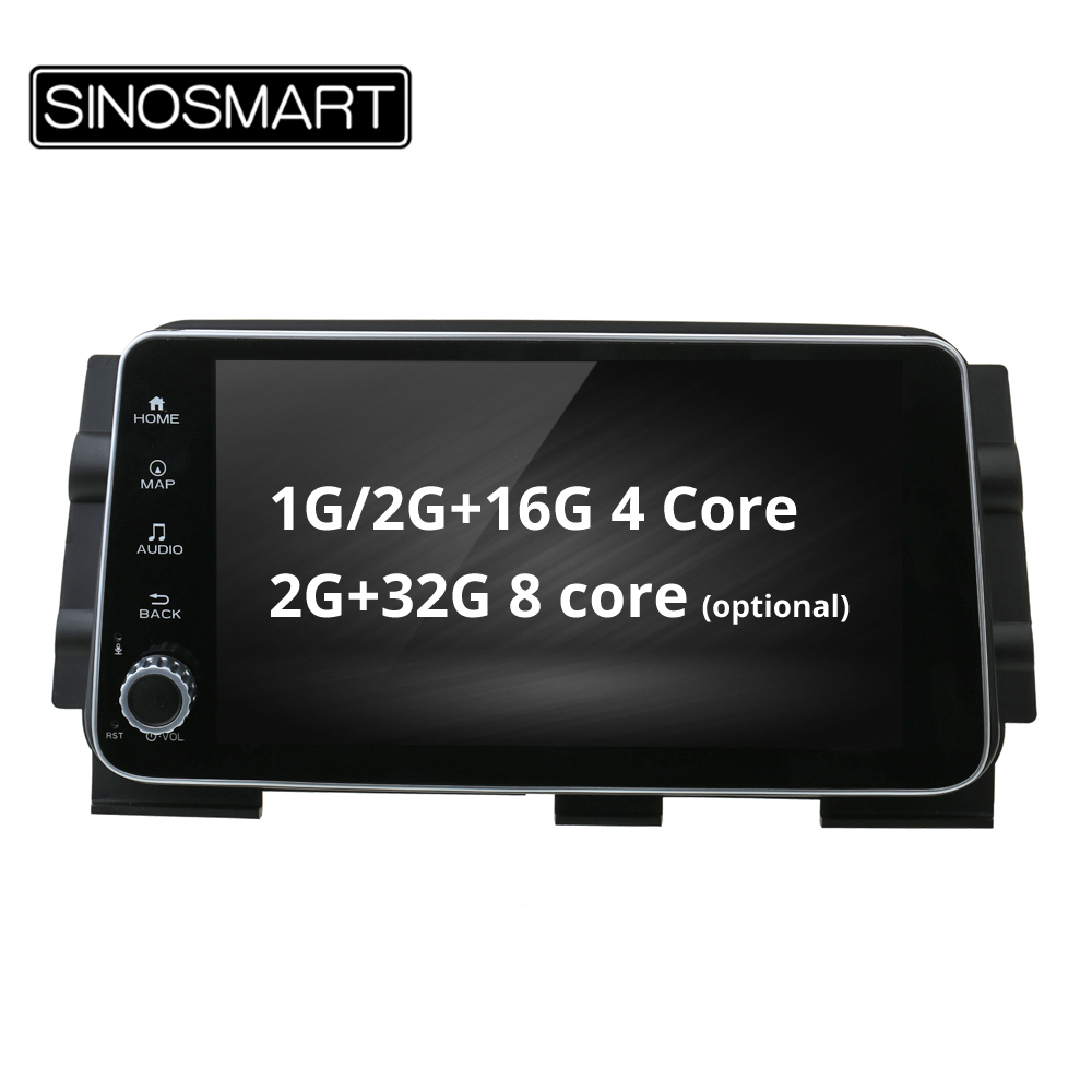 SINOSMART 4 Core/8 Core CPU, 2G RAM 9 inch Android 8.1 Car GPS Navigation Audio for Nissan Kicks Canbus Optional