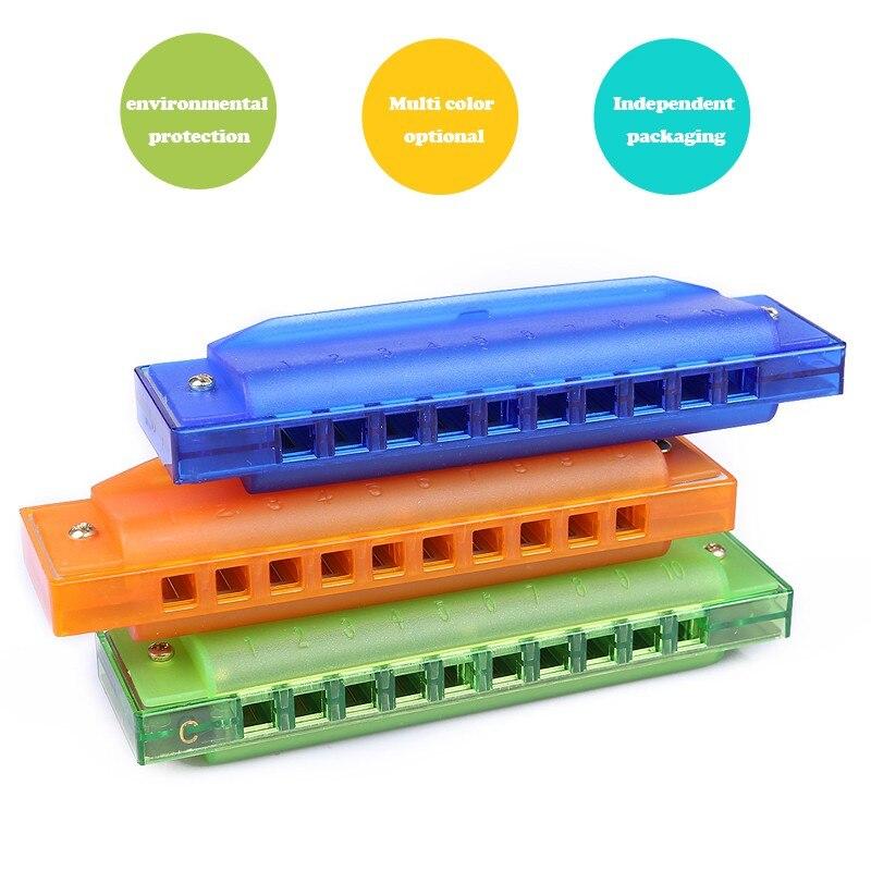 NEUJAHR Mundharmonika Holz Neu Lustig Holz Kinder Musikinstrument - Klassisches Spielzeug - Foto 3