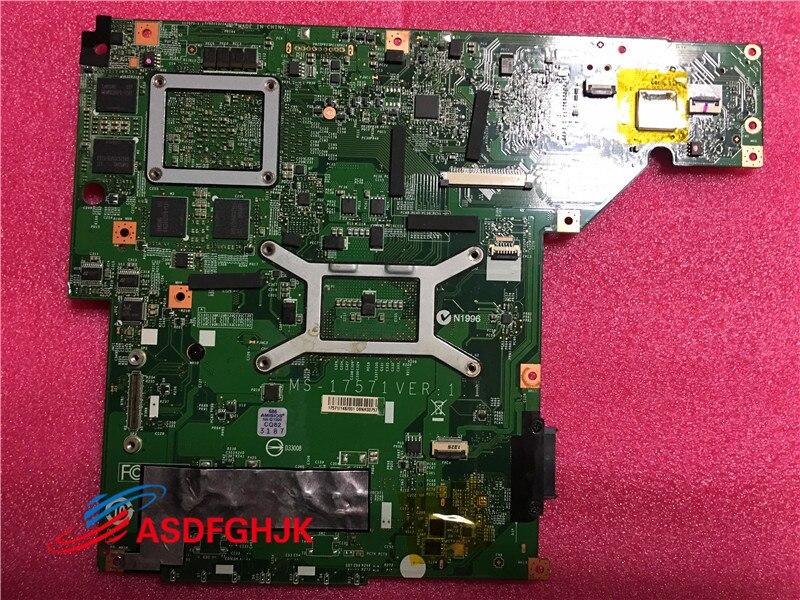 Купить с кэшбэком MS-1757 For msi GE70 laptop Motherboard WITH GT750M MS-17571 VER:1.1 PGA947 DDR3 system mainboard 100% TESED OK