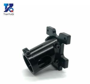 Image 3 - TianYuQi Multi axis uav parts aluminum alloy carbon tube connection  foot mount fixing parts  16mm 20mm 22mm 25mm black