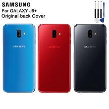 Samsung Original Back Battery Cover Housing For SAMAUNG GALAXY J6+ Door Rear Glass Case