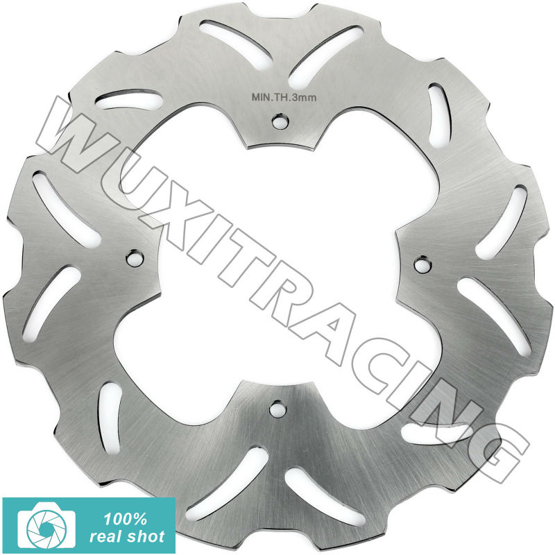 00 01 02 03 04 05 06 07 08 New Rear Brake Disc Rotor fit for Honda XR650R XR 650 R XR SUPERMOTARD 650 крепежная деталь в салон авто rootisbb 30pcs honda fit s2000 01 02 03 04 05 oem