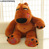 LARSCOWWQ 93CM 36inch Giant Huge Large Stuffed Animal Movie Bear Cushion Plush Doll Toy Birthday Christmas Gift