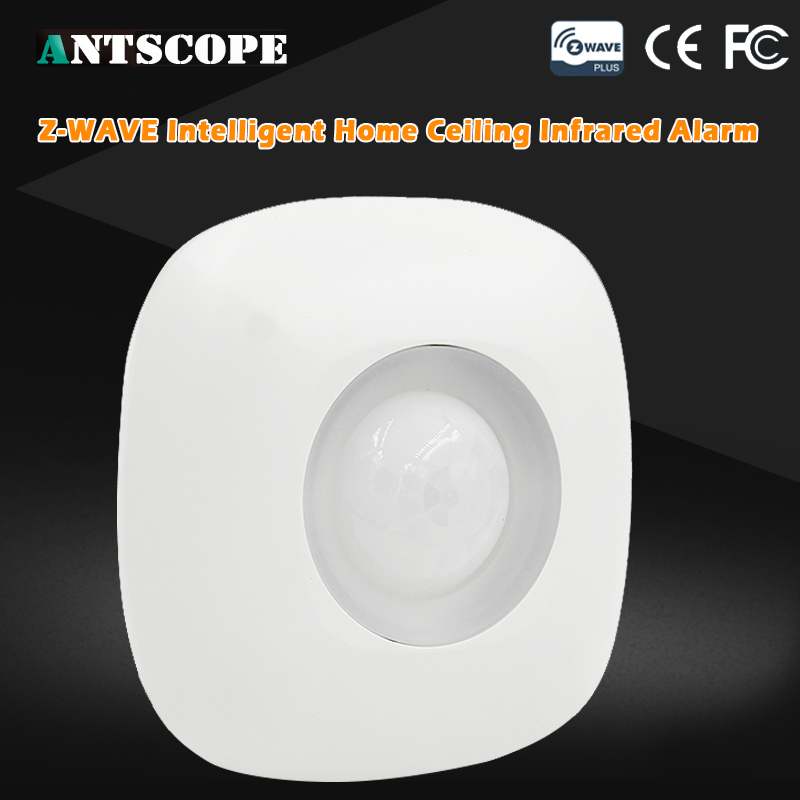 Antscope Z-wave PIR Wireless Smart Motion Detector Sensor 868.4 MHz Infrared Motion Alarm Sensor For Home Automation System neo coolcam nas pd02z new z wave pir motion sensor detector home automation alarm system motion alarm system eu us version