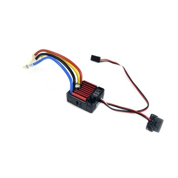 HobbyWing QuicRun Brushed 1060 60A Electronic Speed Controller ESC 1060 With Switch Mode BEC For 1:10 RC Car