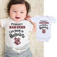 DERMSPE 2019 Infants Newborn Baby Boy Girl Short Sleeve Letter Printed Cute Romper Jumpsuit Summer Clothes Hot Sales