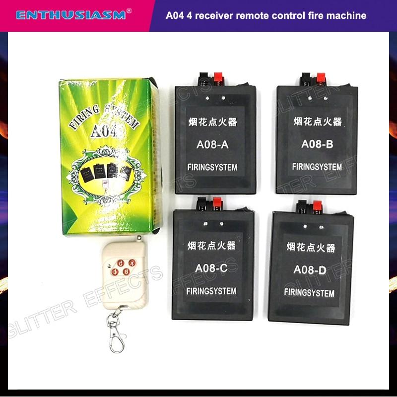 A04 Wireless Remote Control Mini Fireworks Fire Device Machine For Wedding Party