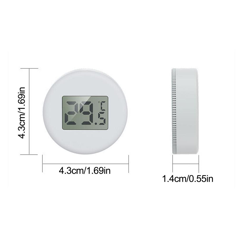 Aquarium Thermometer LCD Screen LCD Water Temperature Meter Electronic Measuring Instrument Aquarium Temperature Measurement in Water Quality Testing from Home Garden