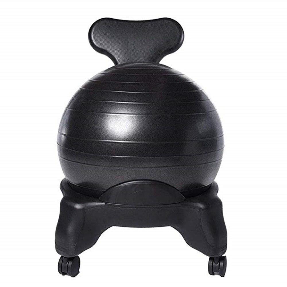 YUEWO Yoga Ball Chair Stretch Ball Office Fitness seat Office Chair Yoga Ball Stool ChairYUEWO Yoga Ball Chair Stretch Ball Office Fitness seat Office Chair Yoga Ball Stool Chair
