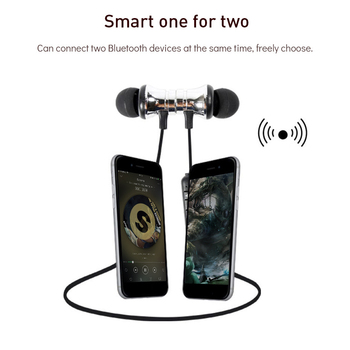 Bluetooth Earphone Wireless Style Dynamic Bluetooth Earphone Mini Sport Headphones Mini Earphone For Iphone 7 Xiaomi Samsung magnetic attraction bluetooth earphone headset waterproof sports 4.2