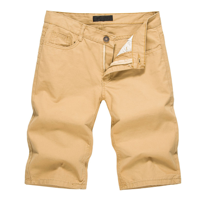 2018 Mens Shorts Casual Bermuda Brand Compression Male Solid Color Cargo Shorts Men Cotton Fashion Men Short Summer Linen XXL