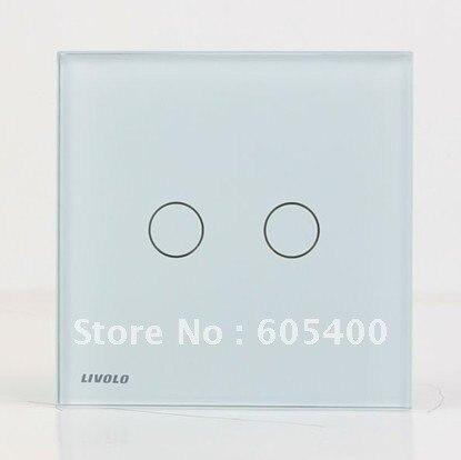 Interrupteur tactile/contrôle deux pour ouvrir vl-c602-12