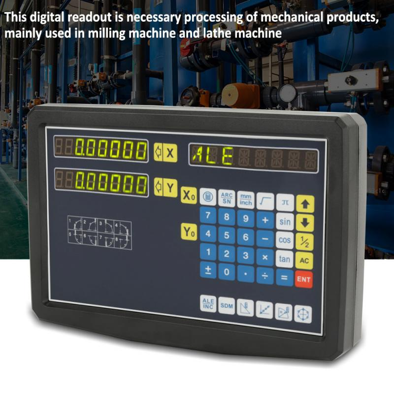 JCS900-2AE 110V-240V Grating Digital Readout for Milling Machine Lathe with  Mounting Acessories 0-3020mm