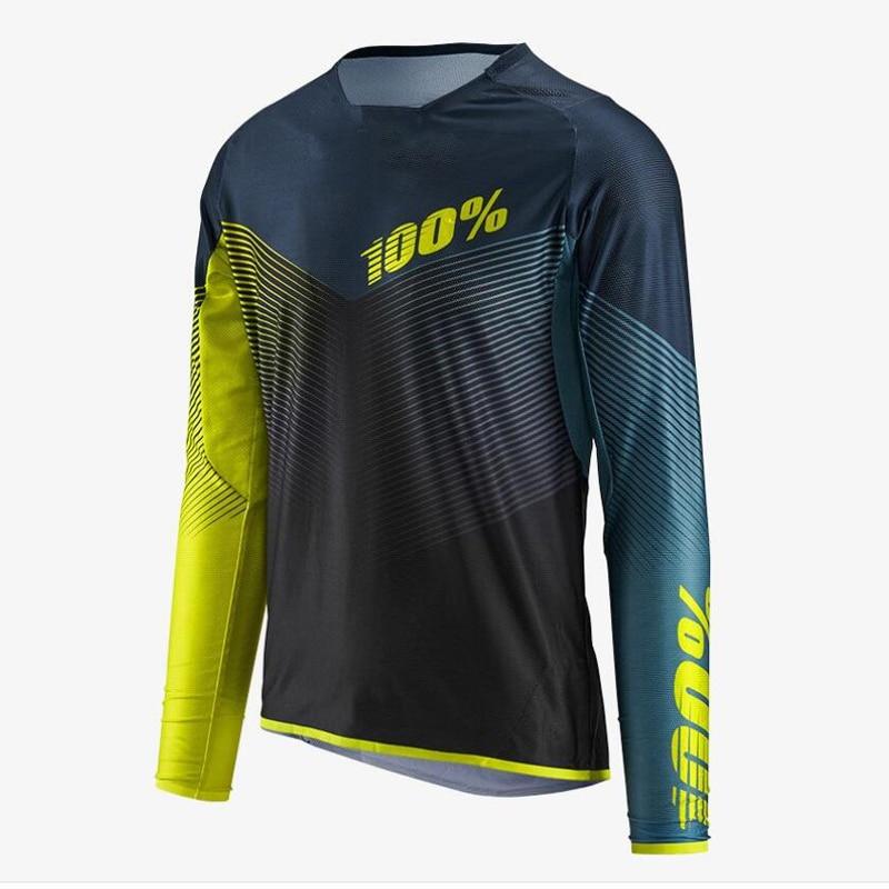 2018 Bike Jerseys Motocross Racing Jersey Quick Dry Motorcycle MTB Mountain Bike Downhill DH Long Sleeve Cycling Jersey