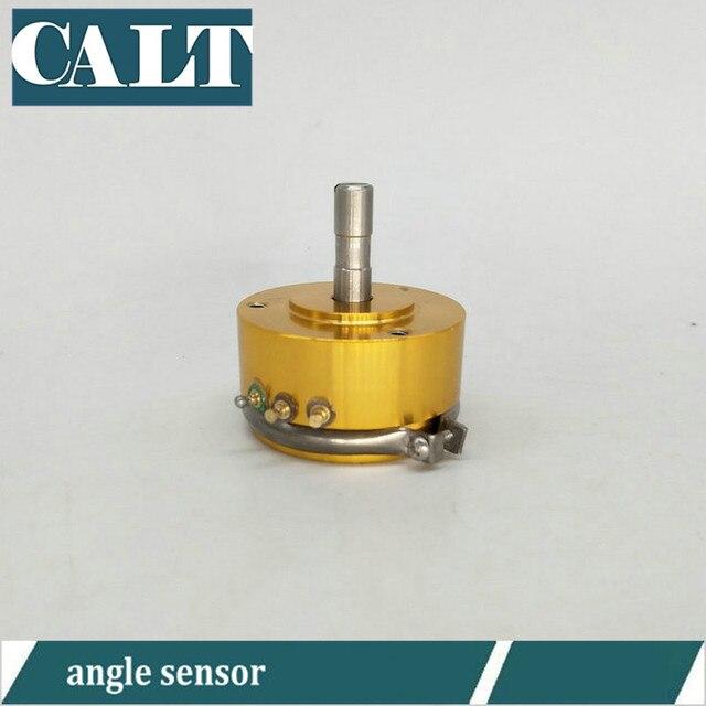WDD35D4-5K geleidende plastic hoekverdraaiing sensor goedkope hoek encoder van hoge precisie lineaire 0.1%