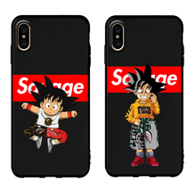 Dragon Ball Anime Phone Case iPhone 5 5s 6 6s Plus 7 8 X