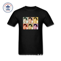 2017 New Arrive Funny Leisure Vintage Audrey Hepburn Funny T Shirt For Men