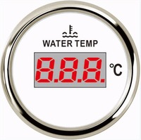 1pc Digital Water Temperature Gauges 40 120 Water Temp Meters 9 32v Fit For Auto Ship