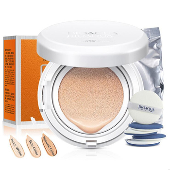 BIOAOUA Fresh And Moist Revitalizing BB Cream Makeup Face Care Whitening Compact Foundation Concealer Prevent Bask Skin Care 1